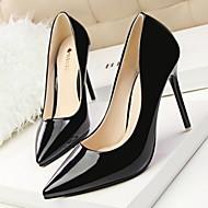 נעלי נשים - בלרינה\עקבים - דמוי עור - עקבים / שפיץ / סגור - שחור / ירוק / אדום / לבן / בז' / בורגונדי - שמלה - עקב סטילטו