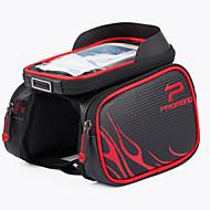 Promend® Fahrradtasche 10LHandy-Tasche Fahrradrahmentasche Fahrradlenkertasche Regendicht Staubdicht Stoßfest Multifunktions Touchscreen