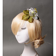 Women's Tulle / Imitation Pearl / Fabric Headpiece - Wedding / Special Occasion / Casual Hair Combs 1 Piece