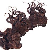 Hiukset kutoo Brasilialainen Kihara 12 kuukautta 3 osainen hiukset kutoo