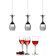 5w Luzes Pingente ,  Contemprâneo Cromado Característica for LED / Estilo Mini MetalSala de Estar / Quarto / Sala de Jantar / Quarto de