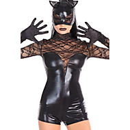 Women's Lace Cat Costume