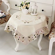1 100% Coton Carré Nappes de table