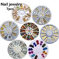 1SET/7PCS  6CM  Fine Nail Jewelry