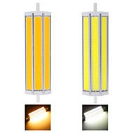 R7S LED Λάμπες Καλαμπόκι T 3 COB 2500 lm Θερμό Λευκό / Ψυχρό Λευκό Διακοσμητικό AC 85-265 V 1 τμχ