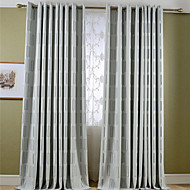 Country Curtains® Room Darkening Jacquard Geometric Curtains Drapes Two Panel