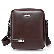Men PU Formal / Casual / Office & Career / Shopping Shoulder Bag / Satchel Brown / Black