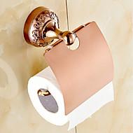 Toiletrolhouder / Badkamergadget Groen Muurbevestiging 13cm*6cm*16cm(5.1*2.4*6.3inch) Messing / Zinklegering Neoklassiek