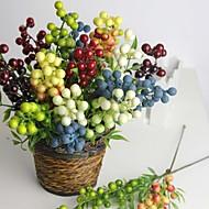 Styrofoam / Gel Silica Plantas Flores artificiais