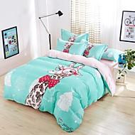 Baolisi Bedding Sets 4pcs Queen Size Girls Korean Love Bed