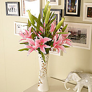 Silk / Plastic Lilies Artificial Flowers