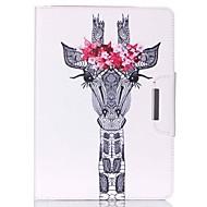 conception spéciale nouveauté cas folio cuir PU dessin de couleur ou un motif étui pour ipad air air2 ipad