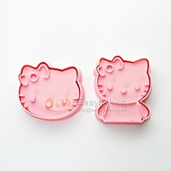 Cute Cartoon Animal 3D Biscuit Mold Hello Kitty Cookie Cutters and Stamps