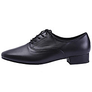 Non Customizable Men's Dance Shoes Synthetic Synthetic Modern Flats Chunky Heel Beginner / Professional / Outdoor / Performance / Practice