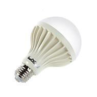 7W E26/E27 Lâmpada Redonda LED B 12 SMD 5630 650 lm Branco Frio Decorativa AC 220-240 V 1 pç
