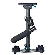 yelangu® handheld aluminiumlegering 40cm dslr stabilisator voor camera en video camcorders