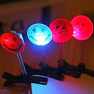 6.3 * 5cm ozdoby Boże Narodzenie uśmiech stroną światła LED lampy 1szt