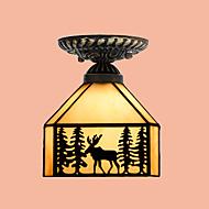 Modern/kortárs / Hagyományos/ Klasszikus / Rusztikus / Lámpás / Régies (Vintage) / Retro LED Üveg Mennyezeti lámpaNappali szoba /