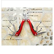 pinces de pêche multi-fonctions des outils de pêche en plein air couteaux ciseaux tournevis