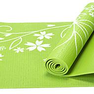 PVC Yoga Mats 17361*8 Pegajoso / Non Toxic 8.0 mm Vermelho / Azul / Verde / Roxa