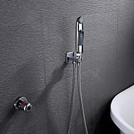 샤워 수전 - 모던 - 자동 온도 조절 / 핸드샤워 포함 - 황동 ( 크롬 )