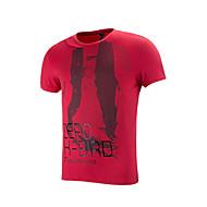 Laufen T-shirt / Oberteile Herrn Kurze Ärmel Atmungsaktiv / Anatomisches Design / Leichtes Material / Weich PolyesterCamping & Wandern /