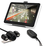 """자동차 7 """"GPS 네비게이션 블루투스 128 메가 바이트 4기가바이트 +지도 + 무선 역 카메라를 AV-에"""