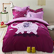 Duoma Fashion Han Edition Upset AB Reactive Printing Series  Four Pieces Beding Set