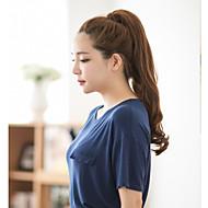 מחיר חם מכירת תוספות שיער בצבוץ חום זול וסגנון יפה
