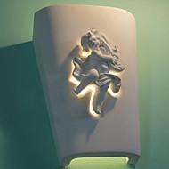 E27 220V 14*31CM 10-15㎡ Creative Rural Creative Mediterranean Wall Lamp European-Style Cupid Wall Lamp Light LED