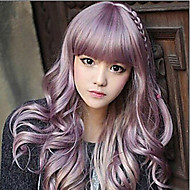 Girls' Lovely Cosplay Beautiful Red Sythetic Wave Wig Hair Extensions Bang Of Daily Style