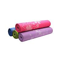 PVC Mats Yoga 173*61*0.6 Appiccicoso / Eco-friendly / Inodore 6 Rosa / Blu / Verde / Viola / Viola scuro / Azzurro cielo / Blu chiaro no