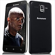 "Lenovo Straight 5.0 "" Android 4.4 4G-smartphone (Single-SIM Octa-core 13 MP 2GB + 16 GB Zwart / Wit)"