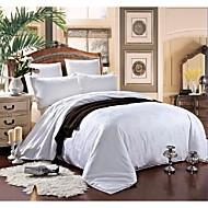 Cotton Bedding Jacquard 100% Silk Quilt Winter Comforter Silk Net Weight 3500g Three Sizes White / Pink / Beige