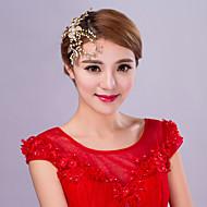Women's Rhinestone / Alloy / Imitation Pearl Headpiece - Wedding Flowers 1 Piece
