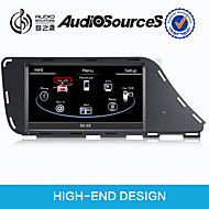 7Inch Car Dvd Player For Audi Q5/A4L Built-In CANBUS With SWC IPAS OPS retain original car function