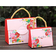 12 조각 / 설정에 찬성 홀더 - 창조적 카드 종이 선물 상자 비 개인화 5.5 * 11 * 9cm