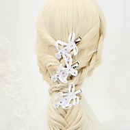 Women's Rhinestone / Alloy / Imitation Pearl / Polyester Headpiece - Wedding / Special Occasion Hair Clip 3 Pieces
