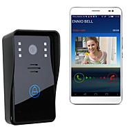 ENNIO WiFi Wireless Video Door Phone  Intercom System IR Night Vision Home Improvement Visual Door Ring
