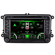 7Inch 1024x600 Capacitive Screen 2 Din Car Stereo For Octavia/Superb/Yeti/Fabia Built-In CANBUS With SWC IPAS OPS