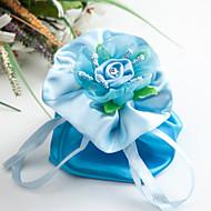 비 개인화 - 웨딩 / 기념일 / 브라이덜 샤워 / 베이비 샤워 / 성인식 & 스윗 16 / 생일 - 클래식 테마 - 호의 가방 ( 블루 , 사틴 )