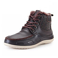 Men's Shoes Outdoor / Office & Career / Party & Evening / Casual Leather / Suede Boots Black / Brown / Gray