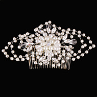Damen / Blumenmädchen Kopfschmuck Hochzeit / Besondere Anlässe Haarkämme Strass / Künstliche Perle Hochzeit / Besondere Anlässe 1 Stück