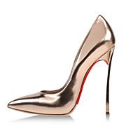 Chaussures Femme - Habillé / Décontracté / Soirée & Evénement - Argent / Or - Talon Aiguille - Talons / Bout Pointu - Talons - Similicuir