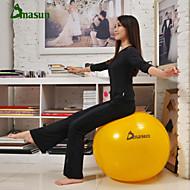 75cm Fitnessball PVC Gelb / Rot / Grau / Dunkelgrün / Purpur Unisex Dmasun