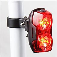 自転車用ライト / 後部バイク光 / 安全ライト LED - サイクリング 防水 / コンパクトデザイン / 警告 単四電池 400 ルーメン バッテリー サイクリング