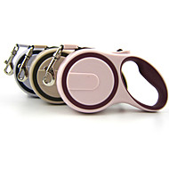 Dog Leash Waterproof / Adjustable/Retractable / Automatic Pink / Gray / Beige Nylon / Rubber