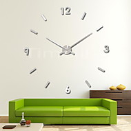 Extremly long hands 3D Fashion Design Large Wall Clock Home Decor Diy Clock