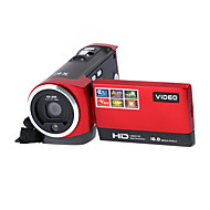 "16x ZOOM 16MP DVR 2.7"" TFT LCD Screen HD 720P Mini Digital Video Camcorder Camera Black/Red"