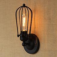 Glödlampa inkluderad Vägglampetter,Rustik E26/E27 Metall